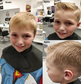 hairdo enfant avant après