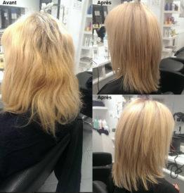 hairdo femme smartbond avant après